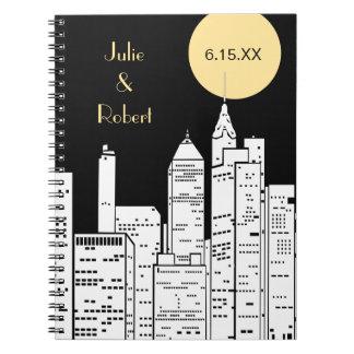 Cuaderno del horizonte de Nueva York