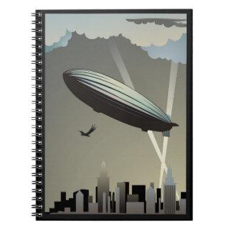 Cuaderno del horizonte del zepelín