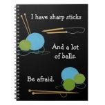 Cuaderno del humor que hace punto