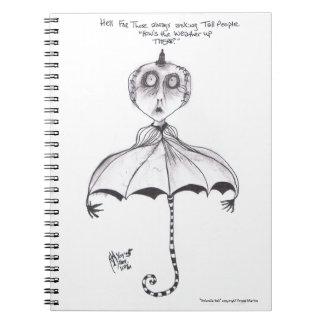 """""""Cuaderno del infierno del paraguas"""" Note Book"""