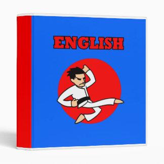 Cuaderno del inglés del individuo de la dinamita d