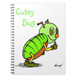 Cuaderno del insecto de Cutey