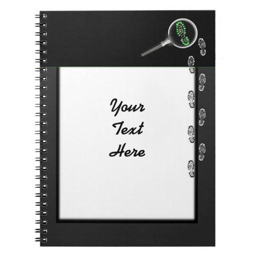 Cuaderno del investigador de la escena del crimen