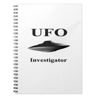 Cuaderno del investigador del UFO