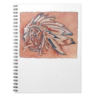 Cuaderno del jefe indio