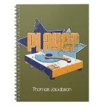 ¡Cuaderno del jugador - PERSONALÍCELO!