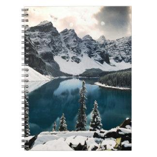 Cuaderno del lago moraine