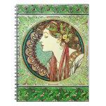 Cuaderno del laurel de Alfonso Mucha
