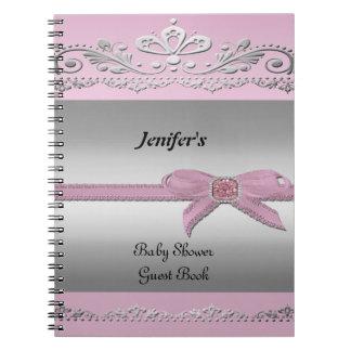 Cuaderno del libro de visitas de la fiesta de bien