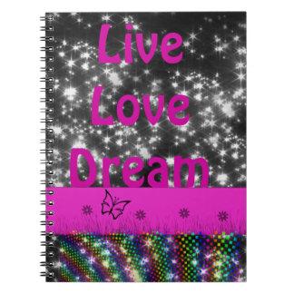 Cuaderno del live&dream de la chispa