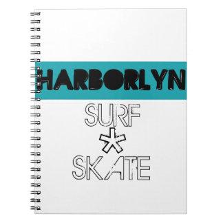 Cuaderno del logotipo de Harborlyn
