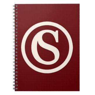 Cuaderno del logotipo de la STC