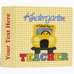 Cuaderno del maestro de jardín de infancia