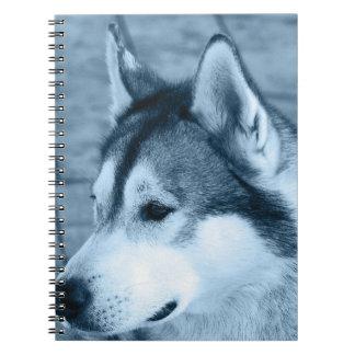 Cuaderno del Malamute de Alaska