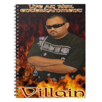 Cuaderno del malvado