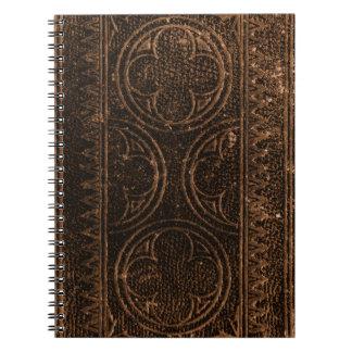 Cuaderno del manuscrito del vintage