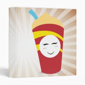 """cuaderno del milkshake de los alimentos de carpeta 1"""""""