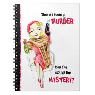 Cuaderno del misterioso asesinato de Femme Fatale