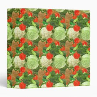 """Cuaderno del modelo de los Veggies Carpeta 1 1/2"""""""