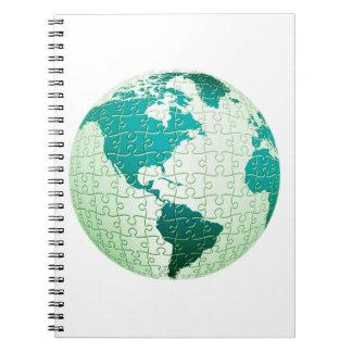 Cuaderno del mundo del rompecabezas