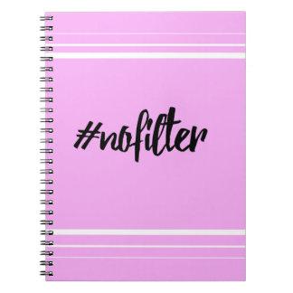 cuaderno del #nofilter