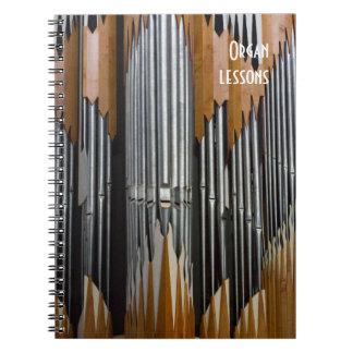 Cuaderno del órgano