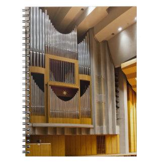 Cuaderno del órgano de Fukuoka