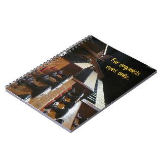 Cuaderno del órgano del St Agustín