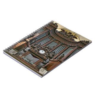 Cuaderno del órgano del St Sulpice