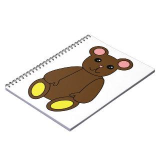 Cuaderno del oso de Brown