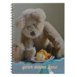 Cuaderno del oso de peluche