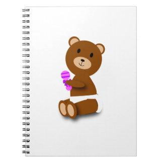 Cuaderno del oso del bebé
