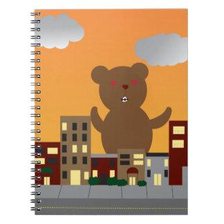 Cuaderno del oso del monstruo