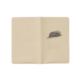 Cuaderno del palo de Brown grande Funda Para Libreta Y Libreta Grande Moleskine