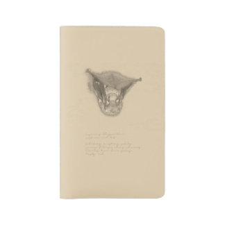Cuaderno del palo rojo funda para libreta y libreta grande moleskine