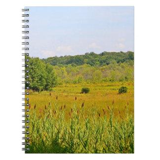 Cuaderno del pantano del arándano