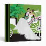 Cuaderno del paseo del carro de los pares del boda