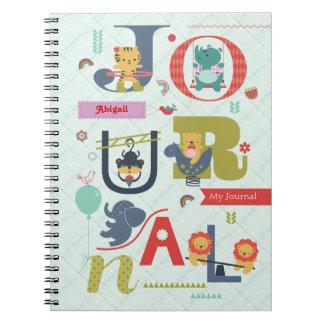 Cuaderno del patio del alfabeto
