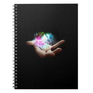 Cuaderno del pentáculo de Magickal
