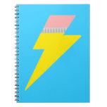 Cuaderno del perno del lápiz