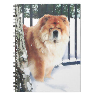 Cuaderno del perro chino del heARTdog de CHLOE