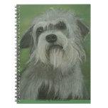Cuaderno del perro de Dandie Dinmont Terrier