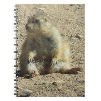 Cuaderno del perro de las praderas