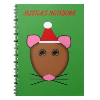 Cuaderno del personalizable del ratón de las