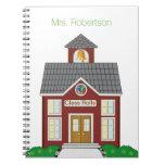 Cuaderno del personalizado de la casa de la