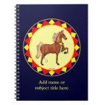 Cuaderno del personalizado del campeón de Saddlebr