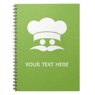Cuaderno del personalizado del COCINERO