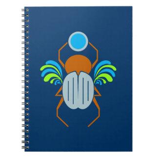 Cuaderno del personalizado del escarabajo