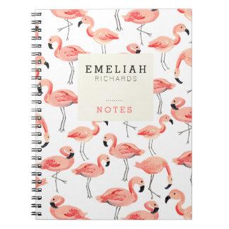 Cuaderno del personalizado del fiesta del flamenco