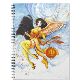Cuaderno del personalizado del geisha del zodiaco
